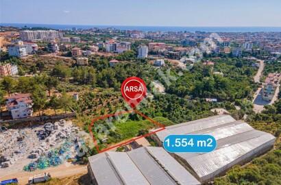 Land for Rent in Alanya Oba Neighborhood