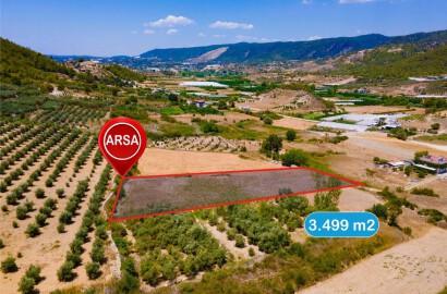 Field For Sale in Alanya Alara