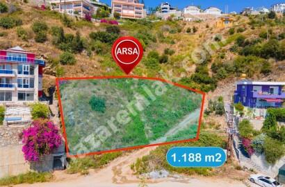 Villa Zoned Land For Sale in Kargicak Alanya