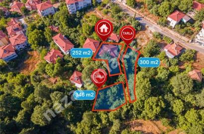 Garden and House for Sale in Alanya Gedevet/Deretürbelinas