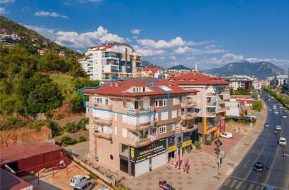 Alanya Küçükhasbahçe'de Satılık Çatı Dubleksi Daire