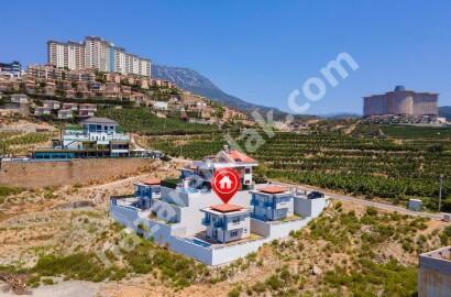 Alanya Kargıcak'ta Satılık Deniz Manzaralı Villa